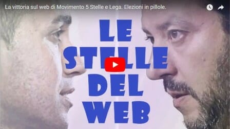La vittoria sul web di Movimento 5 Stelle e Lega. Elezioni in pillole. Video